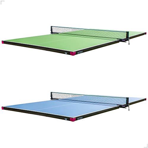 Butterfly Pool Table Conversion Top for Billiard Table - Conversion Table Tennis Game Table with Net - Pool Table Topper Game Tables - Pool Table Conversion Top for Ping Pong - 9 x 5