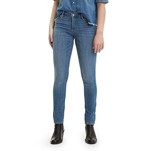 Levi's 711 Skinny Jeans Vaqueros, Indigo Rays, 28W / 30LW Regular para Mujer