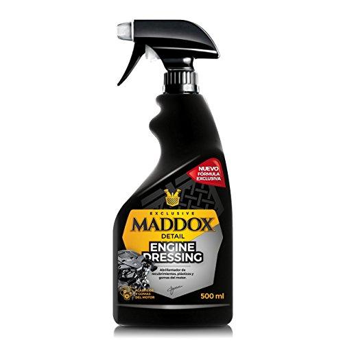 Maddox Detail - Engine Dressing - Abrillantador de recubrimientos, plásticos y Gomas del Motor. (500ml)