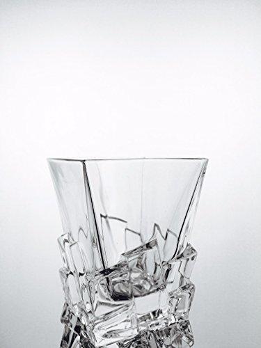 Whiskygläser handgemacht, 6 Kristallgläser Service (28 cl), Unterschrieben und gestempelt klein 54120 Baccarat, Geschenkidee.