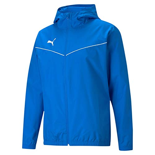PUMA Teamrise All Weather Jacket Chaqueta De Entrenamiento, Hombre, Electric Blue Lemonade, L