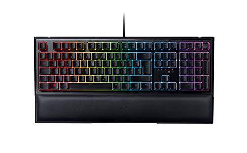 Razer Ornata V2 Mecha-Membrane Gaming Tastatur (Multifunktionaler digitaler Drehregler und Medientasten, Razer Chroma RGB, Razer Hybrid-Mecha-Membran-Keyboard, Programmierbare Tasten) DE Layout
