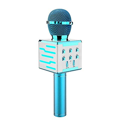 AOWU Karaoke-Mikrofon Wireless-Mikrofon-Karaoke-Maschine Portable Erwachsene Karaoke-Maschine mit Lautsprecher Handheld Karaoke-Mikrofon Für Privatanwender KTV Party im Freien