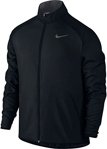 Nike Herren Dry Team Woven Jacke, Black/Dark Grey/Dark Grey, XL