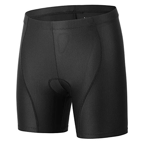 beroy Women Quick Dry Cycling Underwear with 3D Padded,Gel Bike Underwear and Bike Shorts - - S