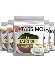 Tassimo Jacobs Cappuccino, 5 x 16 T-discs (40 servings) door Tassimo