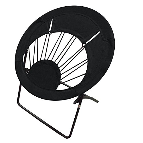 Impact Canopy 0460020002VC Folding Bungee Chair, Black