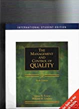 The Management Control of Quality 6th International Student Edition by Evans