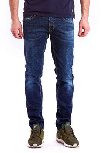 Meltin'Pot - Jeans Maxi per Uomo, vestibilità Slim, Vita Bassa IT 48