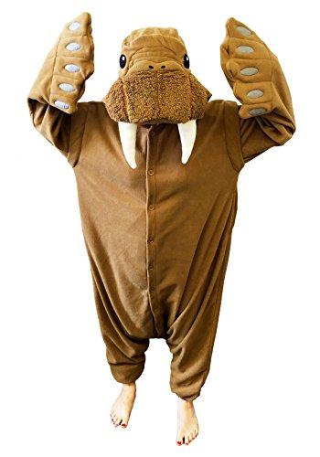 SAZAC Kigurumi Pajama Walross Verkleidung Kostüm