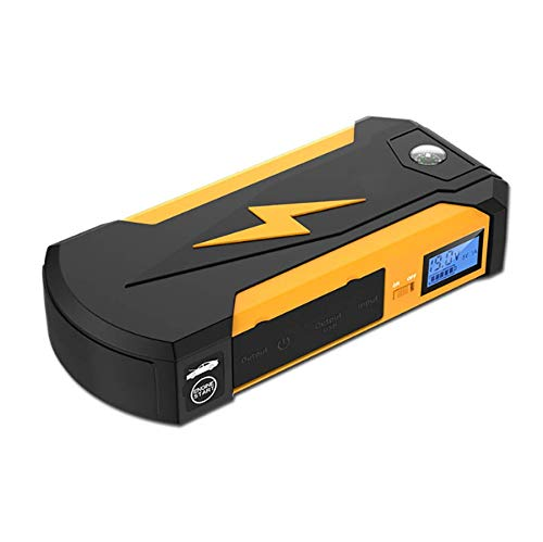 Great Features Of Car Jump Starter Up to 6.0L Auto Battery Charger and 13500mAh Portable External Ba...