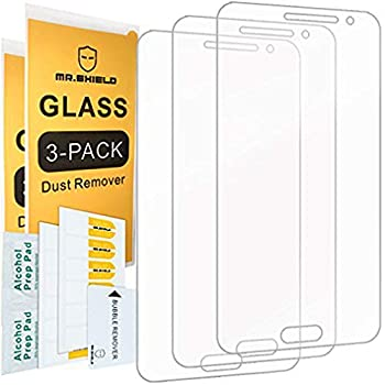 [3-PACK]-Mr.Shield Designed For Samsung Galaxy J3 V/Galaxy J3V [NOT FIT FOR Galaxy J3V 2018 Version] [Tempered Glass] Screen Protector with Lifetime Replacement