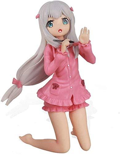 SHUMEISHOUT El nuevo 2D Izumi Sagiri Manga Profesor Anime Muñeca PVC Anime Cartoon Game Character Model Estatua Doll Toy Collection Car Decoration Regalos para los amantes del anime