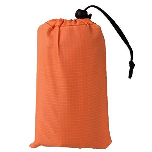 Matear Ligero Camping Mantel Impermeable Mantel Portátil Colchón Picnic Mats Impermeable Alfombras Al Aire Libre Tienda Manta 1,4 * 2M (Color : Orange, Size : 1.4 x 1.5 m)