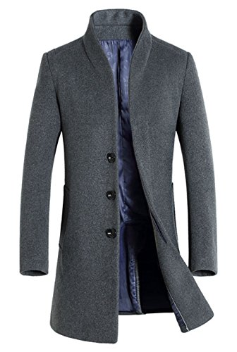 COOFANDY Men's Casual Double-Breasted Jacket Slim Fit Blazer (X-Large, White(FBA))