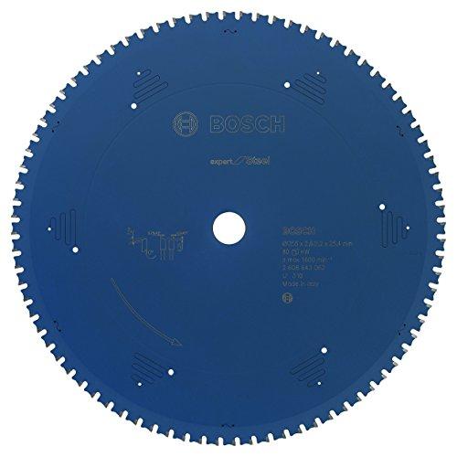 Bosch Professional Kreissägeblatt (für Stahl, AußenØ: 355mm, Bohrung: 25,4mm, Zubehör für Metall-, Kapp-, Gehrungssäge)