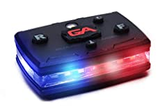 MAKE IT HOME SAFE - The Guardian Angel Elite series was designed with your safety in mind. With 360 degrees of lighting, you can switch between strobe or constant on functions independently between the front and rear facing lights – allowing for a co...