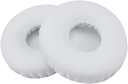 high quality Ear Pads Foam online Replacement Ear Cushions Covers Earmuffs Pillow online Compatible with Yamaha YHE-90M Headset Headphone (White) online