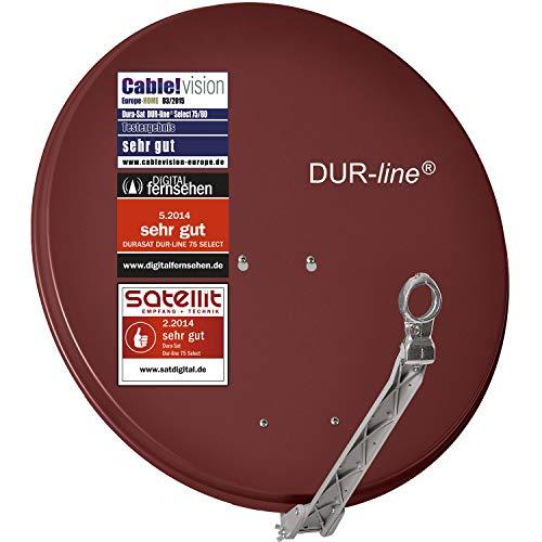 DUR-line Select - Parabola satellitare in alluminio, 75 cm/80 cm