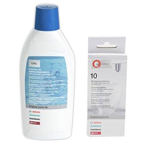 Bosch Tassimo flüssig Entkalken Flüssigkeit + Calc Tabletten (500ml+10 Tablette)