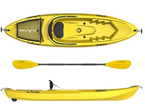 ATLANTIS Kayak - Canoa Ocean Giallo - schienalino...