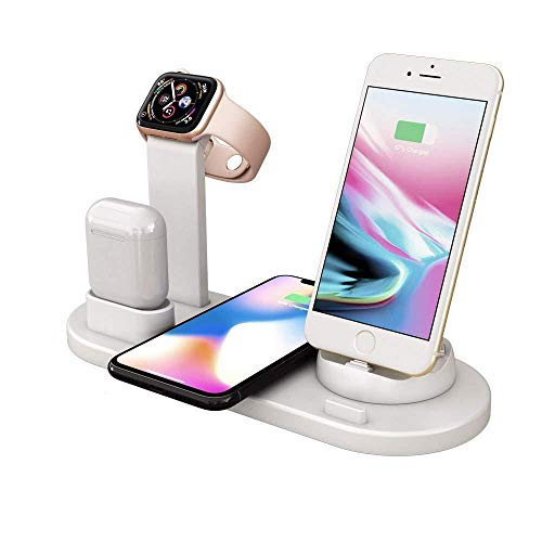 Charging Dock Stations | 4-in-1 Charger Stand Wireless Station Multiple Devices