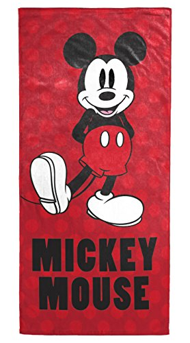 Mickey Mouse Polka Dots Soft Cotton Bath Towel
