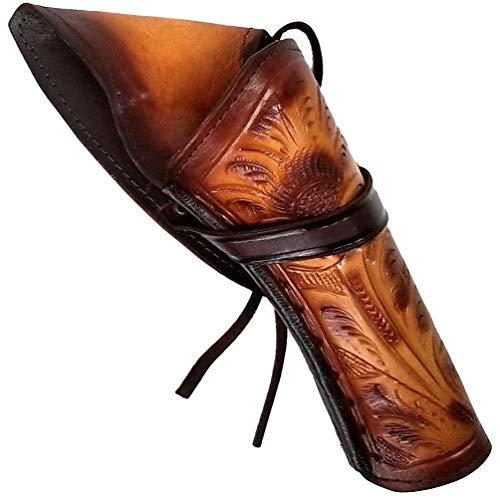 Modestone Right Handed Cross Draw Holster for Pistolengürtel Leather Western Tan