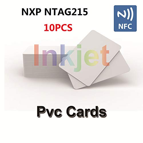 TimesKey 10 X Tarjetas Inyección Tinta NFC NFC Card