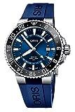Aquis GMT Date Blue Dial 43.5mm Watch