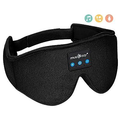 Amazon - Save 15%: MUSICOZY Sleep Headphones Bluetooth Wireless Sleeping Eye Mas…