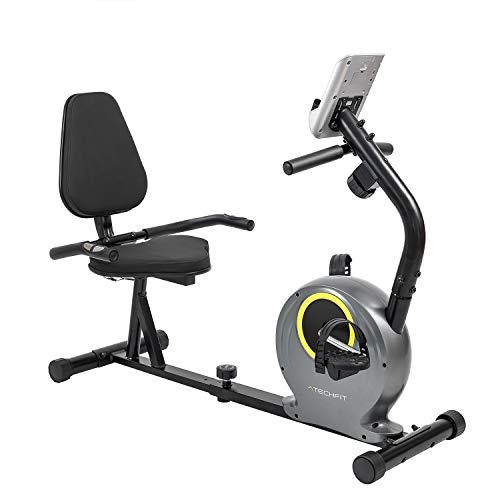 TechFit R300 Cyclette Orizzontale, Ideale per l'allenamento di Recupero a Casa, con...