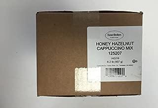 Farmer Brothers Honey Hazelnut Cappuccino Mix 6/2 LB bags