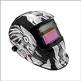 FEENGG Automatik Schweißhelm mit Uv-Schutz:16 Stufen, Solar Schweißmaske(Variable Abdunklung: DIN 9-13) für Polieren, MMA, MIG/MAG, Wig/TIG und Polieren