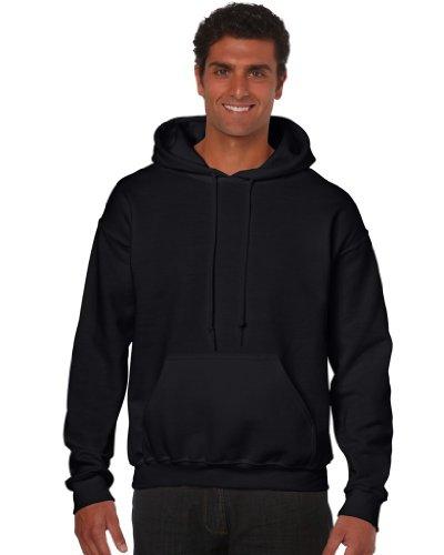 Gildan Herren Hoodie Heavy Blend Hooded Sweatshirt 18500 Black L