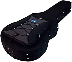 ProRockGear Armourguard Light Weight Polyfoam Guitar Case, 335 Style