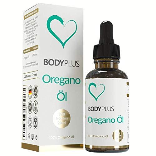 Einführungsangebot!! 20ml Oregano ÖL von Bodyplus 80% Carvacrol.100% Premium ätherisches Oregano Öl aus Griechenland.Made in Germany mit Geld zurück Garantie.