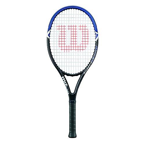 Wilson Hyper Hammer 2.3 110, Racchetta da Tennis per Giocatori Principianti Unisex – Adulto, Grigio Blu, 3