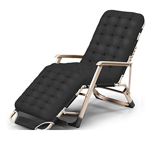 Lounge Chair Recliners,Zero Gravity Chair With Adjustable Headrest, Oversized Recliner Chair, Reclinable Folding Chair For Outdoors Bedroom, Padded Patio Chair-9
