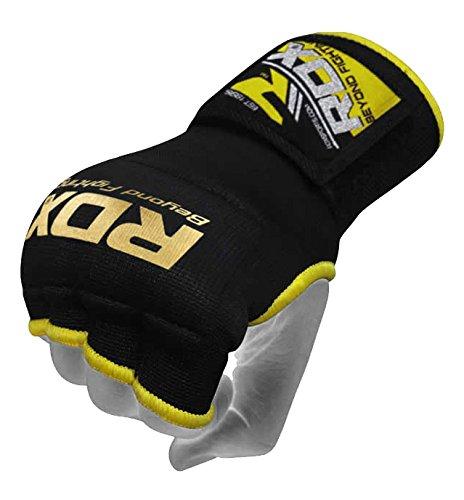 RDX Guanti interni elastici con bende di chiusura per MMA
