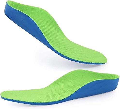 Kinder Flat Foot orthopädische Einlage waschbare atmungsaktiv männlichen und weiblichen acht Zeichen X0 Leg Orthopädische Senkfusseinlage Einlegesohle for Flat Feet, Fersensporn, Füße Heel Pain Relief