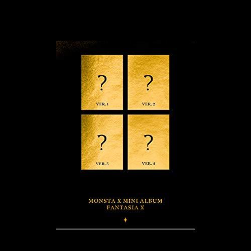 Monsta X Mini Álbum Fantasia X (incluye Beneficios de prepedido: póster, unidad de fotografía, fotografía instantánea, soporte triangular, una tarjeta fotográfica acrílica al azar).