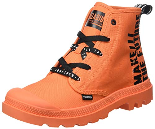 Palladium Pampa Hi Future, Stivaletto Unisex-Adulto, Petardo, 44.5 EU