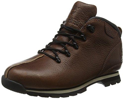 Timberland Herren Splitrock Hiker Chukka Boots, Braun (Obsidian Ranger Naturebuck Nubuck), 41.5 EU