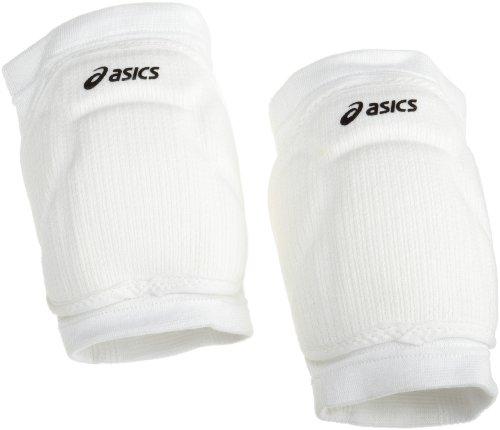 ASICS Volleyball Knieschoner ZD7500 (1 Paar), Herren, weiß, Einheitsgröße