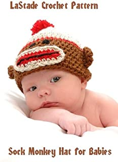 crochet monkey beanie pattern