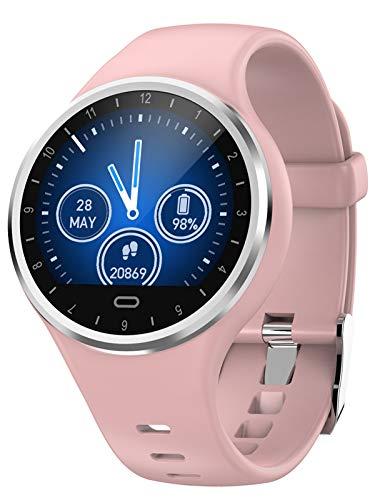 Damen Smartwatch Schrittzähler Schlafüberwachung Blutdruck Fitness Tracker Wasserdicht Sport Armband Alarm Herren