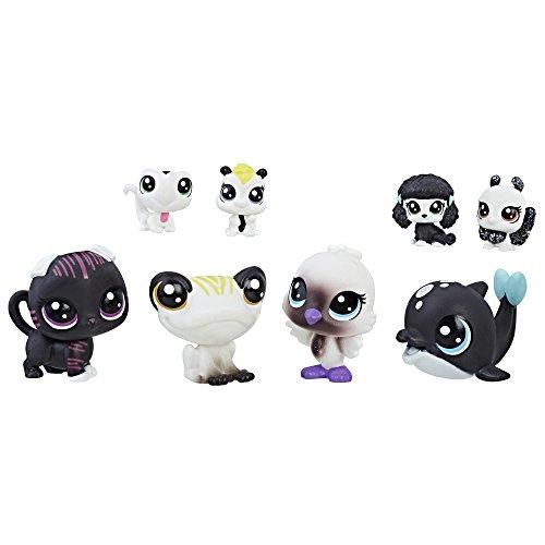 Littlest Pet Shop Black & White Pet Friends, Collection 5