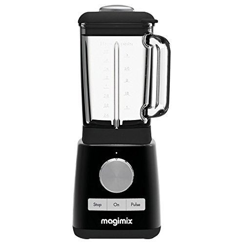 Magimix 11610 Le Blender, schwarzes Finish