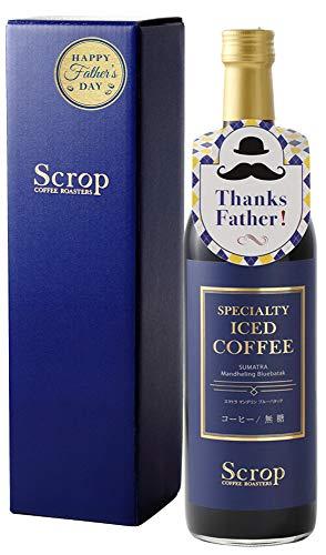 【父の日 厳選ギフト】Scrop ボトルアイスコーヒー スマトラ マンデリン ブルーバタック 無糖 720ml